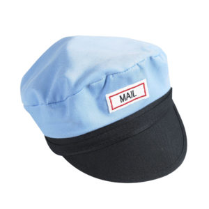 mail man dress up hat