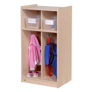 toddler coat storage