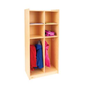 classroom coat storage