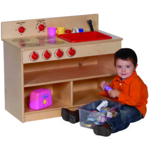 toddler role play oven and sink