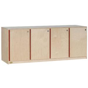 preschool locker storage