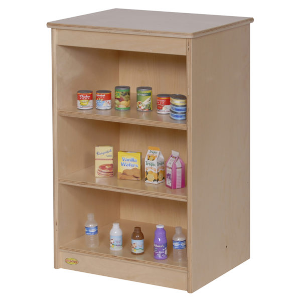 wooden role play storage