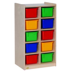 shelf storage for preschool