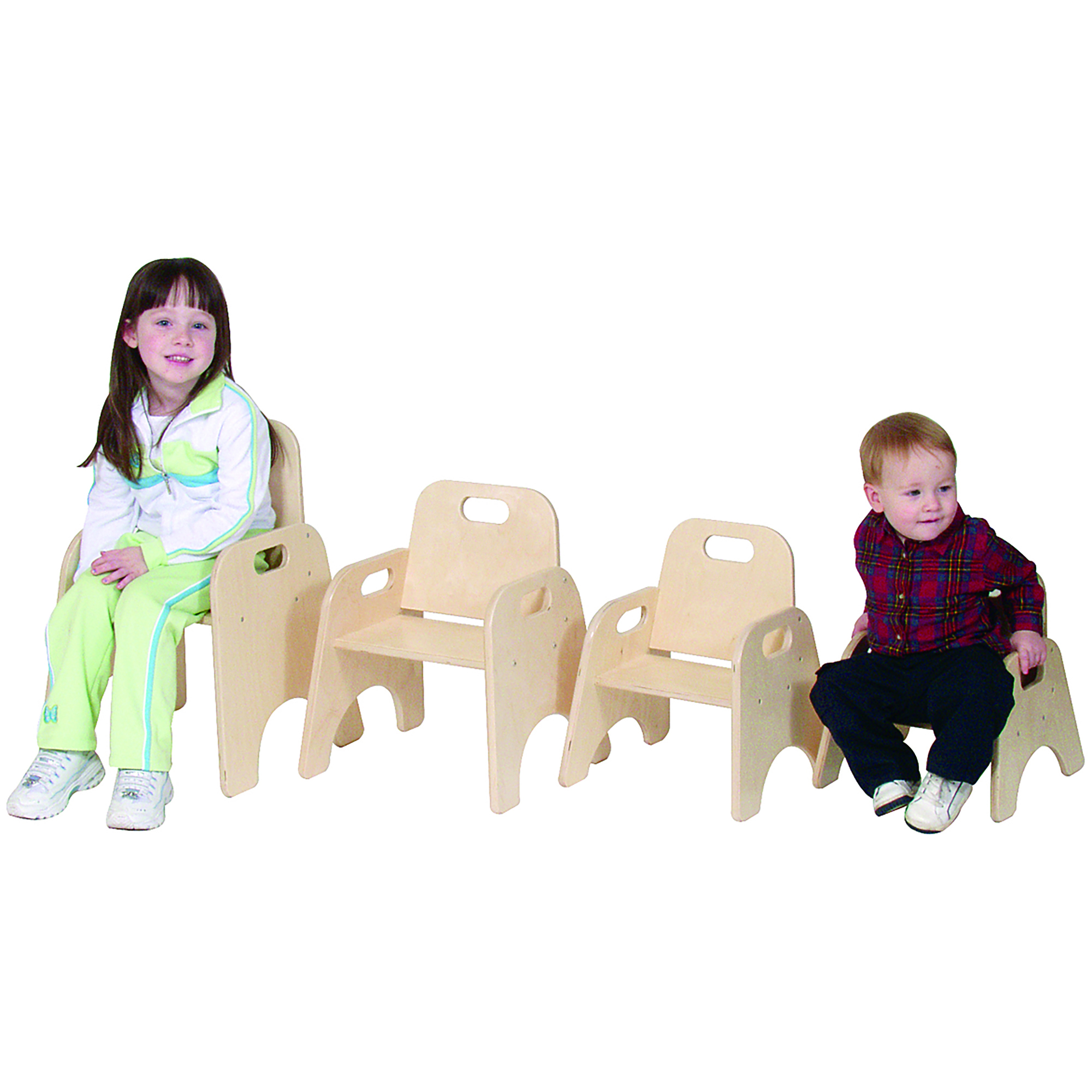 Flexible Seating Classroom Furniture for Toddlers Natural Tan Beige Childrens Factory Angeles Value Stack Kids Chair Preschool//Homeschool//Daycare Furniture 7