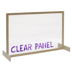 clear art panel for classrooms