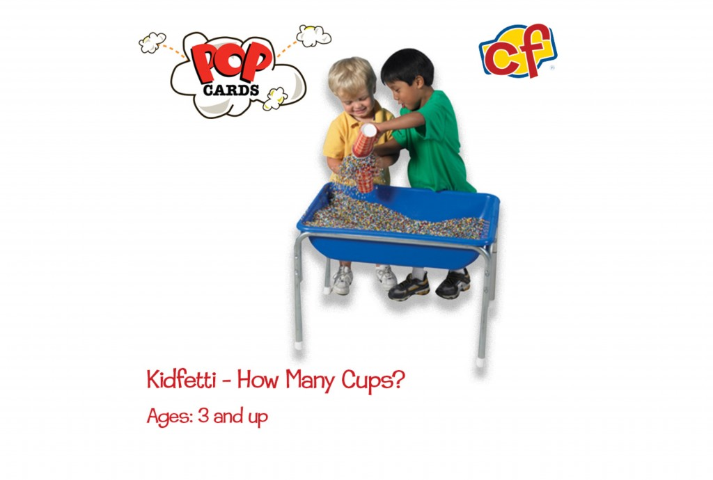 boys playing with kidfetti table