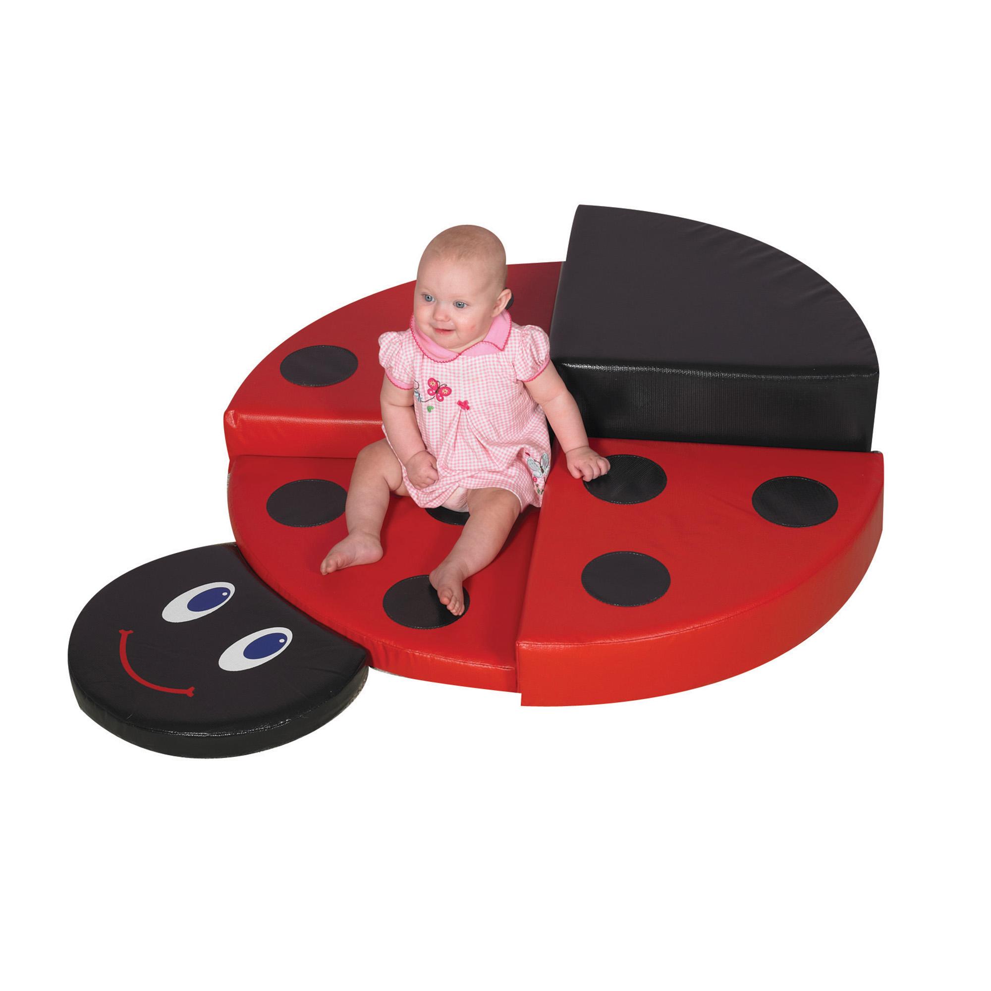 Childrens Factory Ladybug Climber Classroom Furniture CF322-374