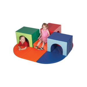 toddler tunnel and climb