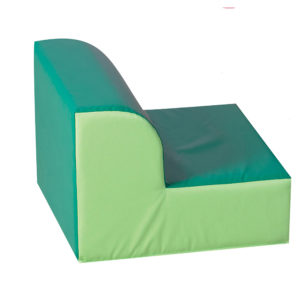 green library chair