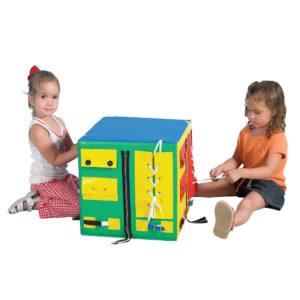 developmental play cube