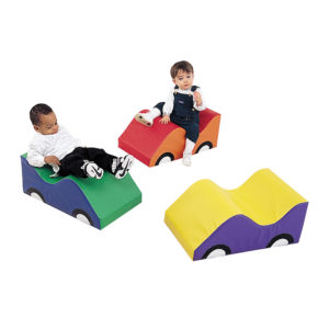 wide infant toddler soft cars