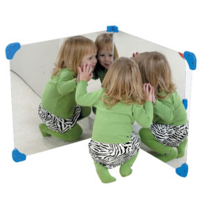 24 inch corner mirror pair