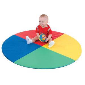 four color pie mat