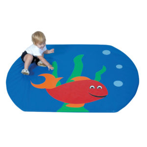 fish bowl activity mat
