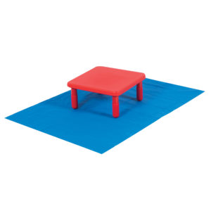 table on mat