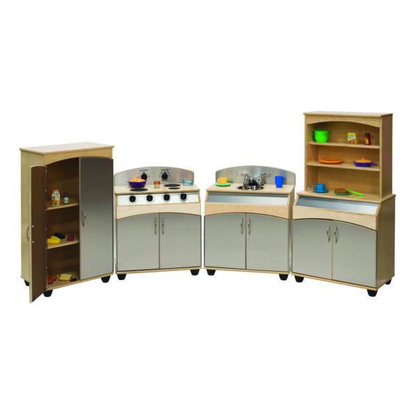 complete contemporary kitchen