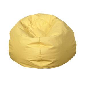 tear drop bean bag yellow