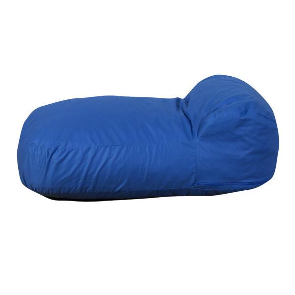 pod pillow blue