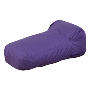purple soft chair