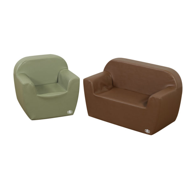 club 2 piece furniture group