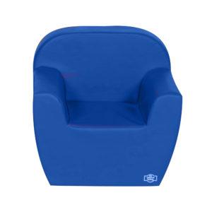 blue soft childrens chair