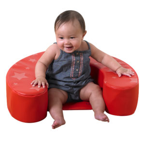 red star child seat