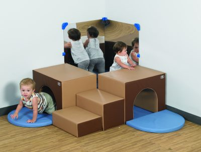 Classroom Corner Climbers are great for socializing.