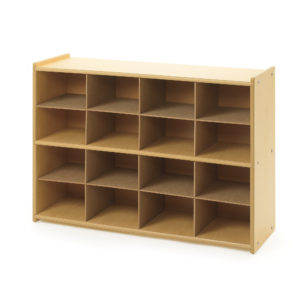 sixteen tray storage unit
