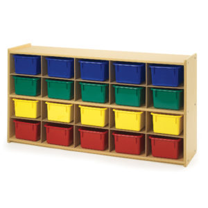 20 tray storage unit