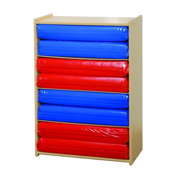 four shelf wooden organizer