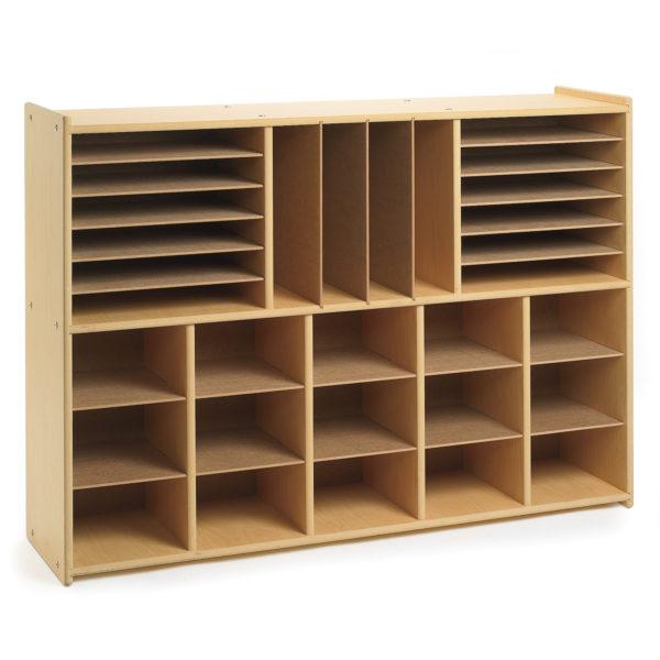 multi-section storage