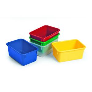 plastic storage trays
