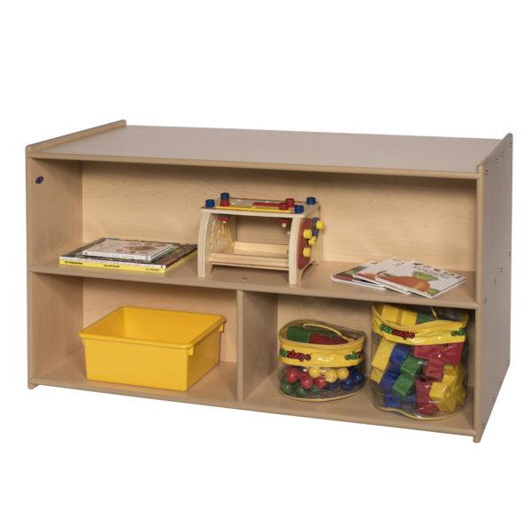 two shelf storage