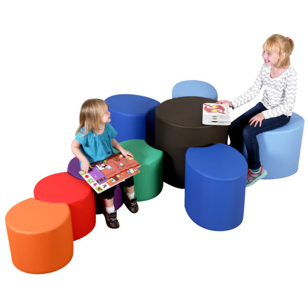 colorful soft seats for toddlers