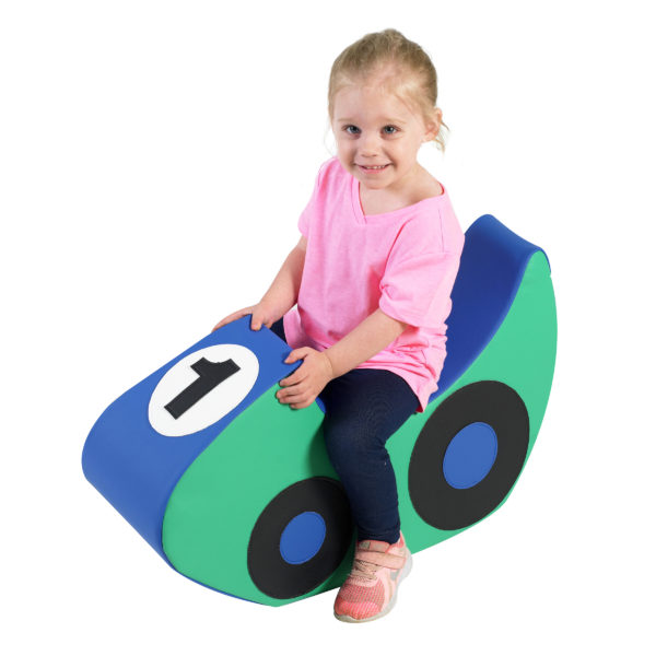 race car soft chair