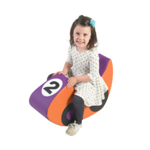 race car soft chair