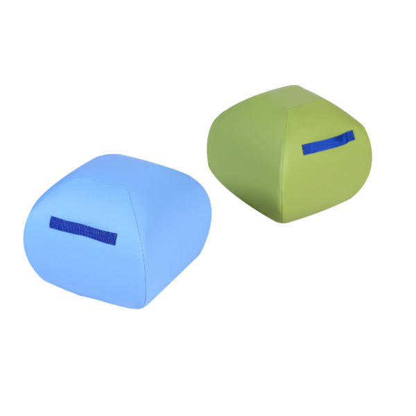light blue and lime green turtle seats 12 inch