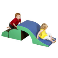 tunnel and slide climber