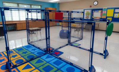 Clear PlayPanels Can Be Used for Classrooms Designed for Clear Sightlines