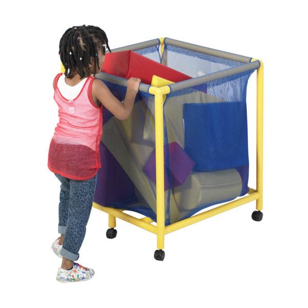 mesh toy basket