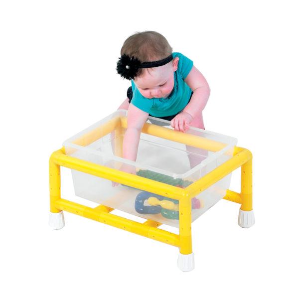 plastic toy rack