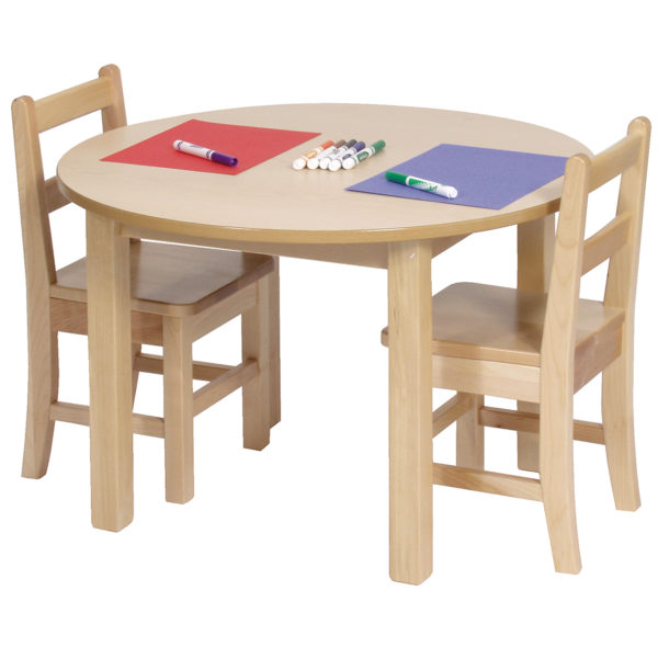 solid birch tables