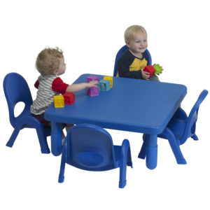square toddler table with chairs