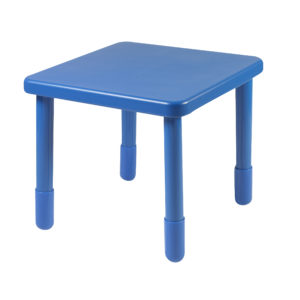 blue square value table