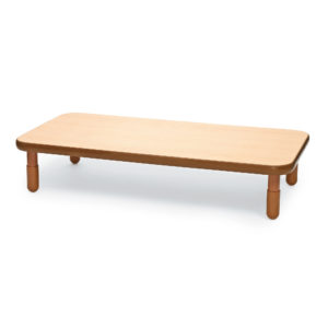 natural wood rectangle value table