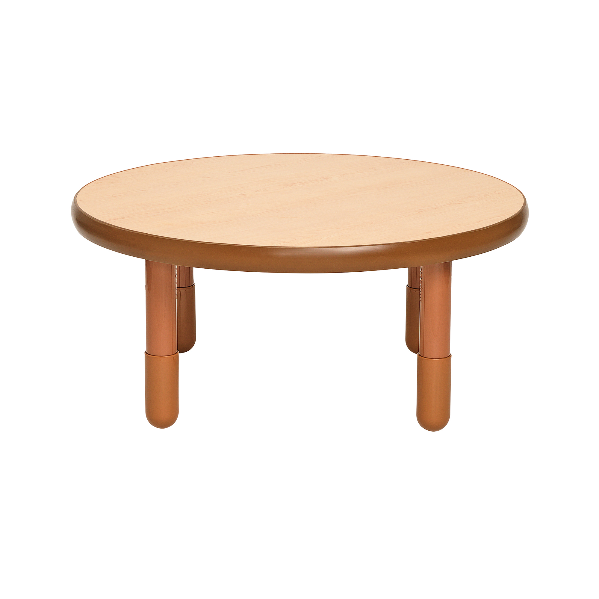 Baseline 36 Diameter Round Table Natural With 16 Legs Children S Factory