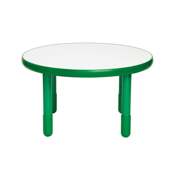 green round value table