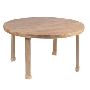 "36"" Diameter Round NaturalWood™ Table Top with 22"" Legs"