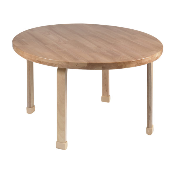 """36"""" Diameter Round NaturalWood™ Table Top with 22"""" Legs"""