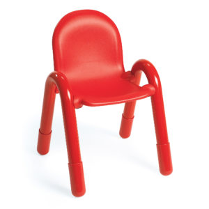 red baseline chair